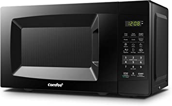 COMFEE' EM720CPL-PMB Countertop Microwave Oven with Sound On/Off, ECO Mode and Easy..
