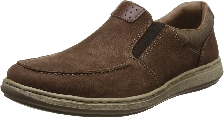 Rieker Patros Mens Casual Tulsa Mall Slip On Max 71% OFF Shoes Satt 43 US M EU D 10