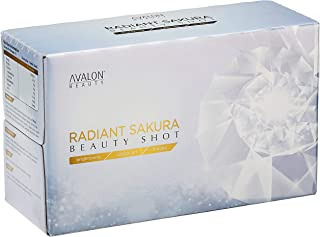 Avalon Radiant Sakura Beauty Shots Bottles, 10 count