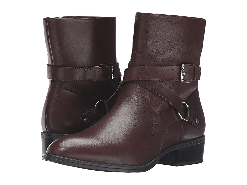 LAUREN Ralph Lauren Makalia (Dark Brown Burnished Calf) Women