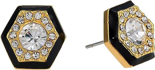 Gold/Jet Black/Crystal