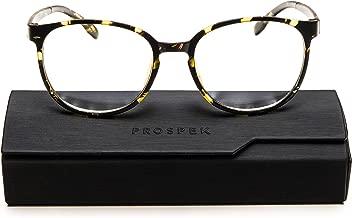 PROSPEK Blue Light Blocking Glasses for Women, Computer Glasses - Artist (+0.00 (No Magnification))