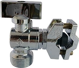 Installation Facile et Rapide 3//8 Flexible M12//17 F12//17 SOMATHERM C620 for You-Kit de raccordement Complet avec Un Robinet de WC /équerre 1//4 de Tour nickel/é 12//17 2 Joints Gris