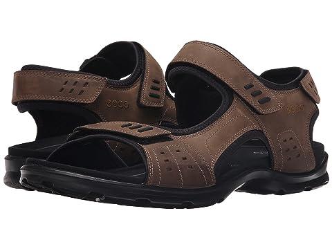 Ecco Sandals Mens - Ecco Performance Utah Brown Black