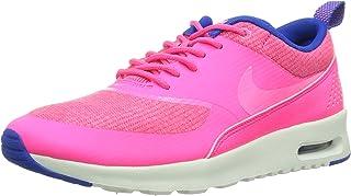 Nike WMNS Air Max Thea Premium Hyper Pink Pink Glow Hyper Cobalt Summit 616723 601