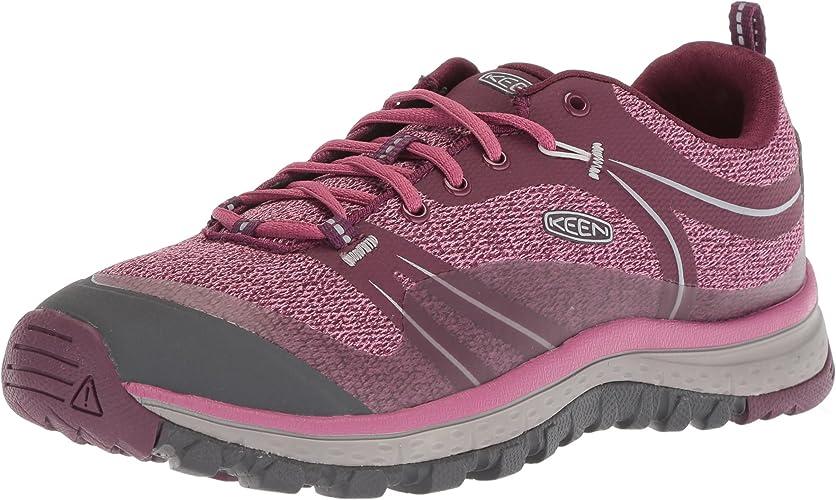 KEEN Wohommes Terradora-W Hiking chaussures, Grape Wine rouge Violet, 8.5 M US