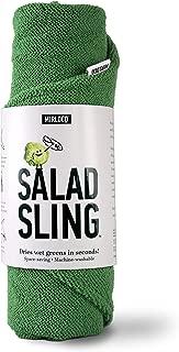 Salad Sling by Mirloco, Lettuce Dryer Towel with Waterproof Liner, Green