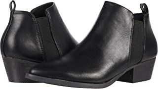 Report Women's Bootie Ankle Boot, Black, 7