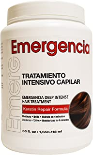 Emergencia (Emergency) Deep Intensive Keratin Repair Treatment by Toque Magico 56oz