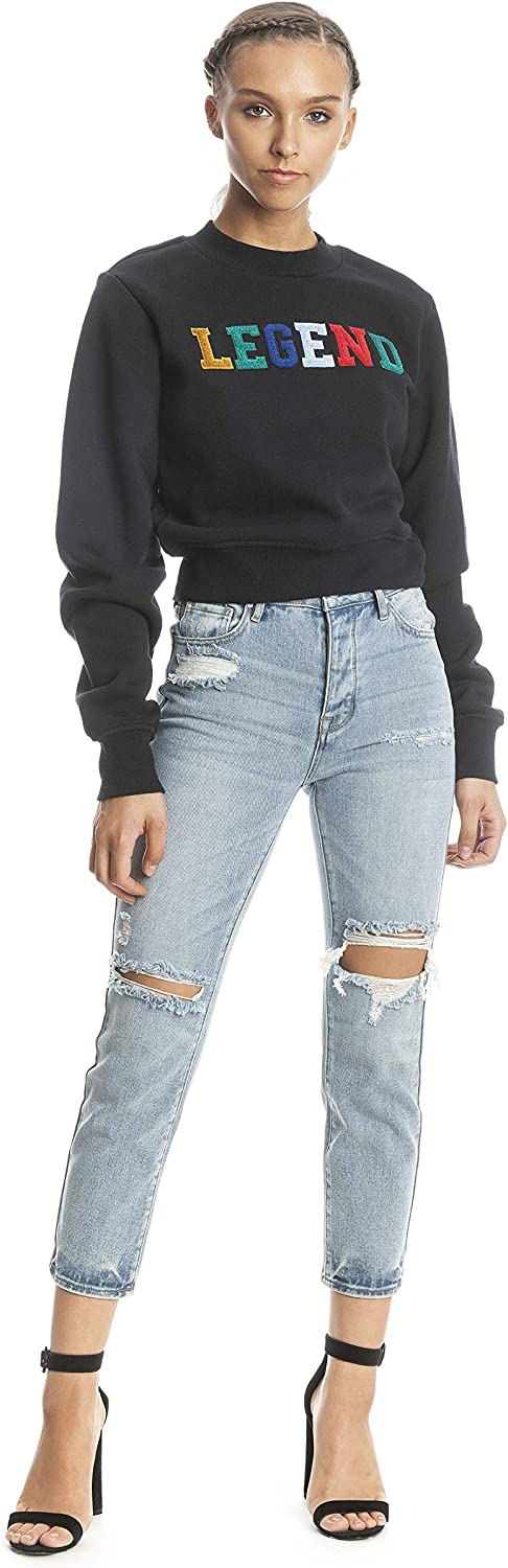 KENDALL + KYLIE L Crew Crop S Oklahoma Fixed price for sale City Mall