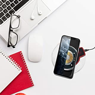 Wireless Charging Pad Smart FOD, Compatible with iPhone 11/11 Pro max/Xs/XS Max/XR/X/ 8/ 8Plus/Samsung Galaxy Note/ S10/ S9/ S8/ by BellaFleur