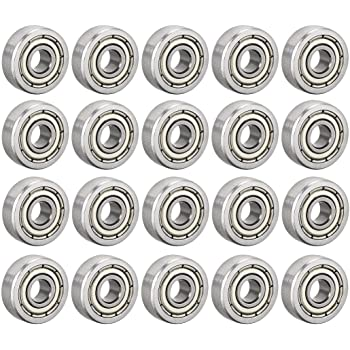 4mm x 12mm x 4mm Ball Bearing Stainless 4x12 mm
