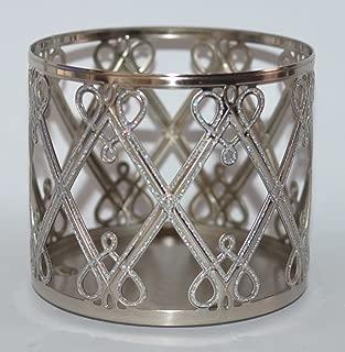Bath & Body Works 3 Wick Candle Sleeve Holder Holiday Hearts & Diamonds