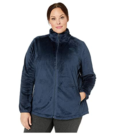 The North Face Plus Size Osito Jacket (Urban Navy) Women