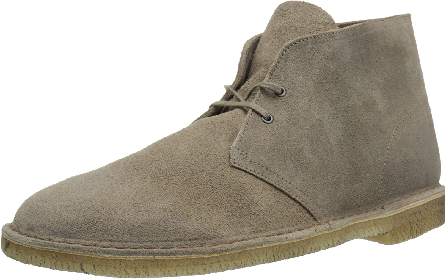 Clarks Mens Desert Boot Taupe Distressed Boots M,7 D(M) US