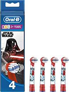 Oral-B Stages Testine di Ricambio per Spazzolino Elettrico Ricaricabile, con Personaggi Disney Star Wars, Appositamente pe...