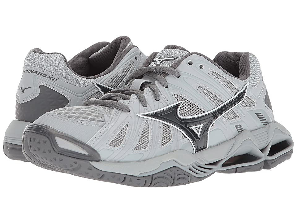 Mizuno Wave Tornado X2 (Grey) Girls Shoes