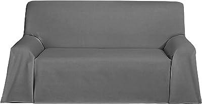 Martina Home Espiga - Foulard Multiusos, Crudo Gris, 180 x ...