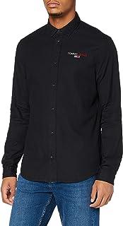 Tommy Hilfiger TJM Textured Stripe Logo Shirt Camisa para Hombre