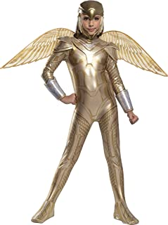 Girl's DC Comics WW84 Deluxe Gold Armored Wonder Woman...