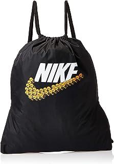 Nike Unisex-Child Gym Sack, Black/White - NKBA6132-10