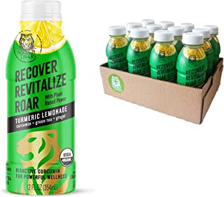 Organic Golden Tiger Turmeric Lemonade with Green Tea - Inflammation Relief, Immunity Support & Recovery Beverage : Bio Ac...