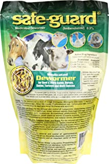 MERCK ANIMAL HEALTH MFG-Safeguard .5% Multi-Species Wormer 1 Lb