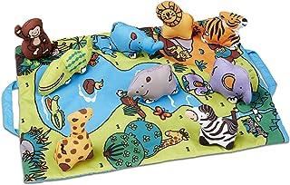 Melissa & Doug Take-Along Safari Play Mat