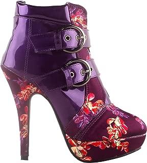 Best glitter purple high heels Reviews
