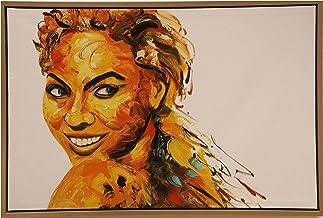 لوحة زيتية على الحائط
