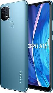 OPPO A15 Smartphone CPH2185 3GB+32GB لون أزرق غامض 4230mAh بطارية كبيرة مستشعر بصمات الأصابع 13MP كاميرا خلفية ثلاثية