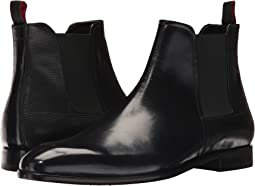 BOSS Hugo Boss - Dress Appeal Brushed Off Leather Chelsea Boot by HUGO