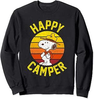Snoopy happy camper Sweatshirt
