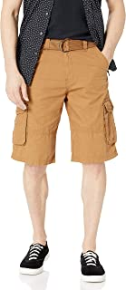 Southpole mens All-Season Belted Ripstop Basic Cargo Short Cargo Shorts