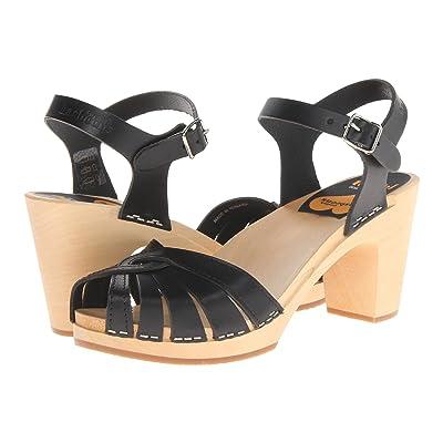 Swedish Hasbeens Fredrica (Black) High Heels