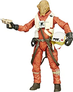 Star Wars Black Series X-Wing Pilot Asty 6 inch Action Figure