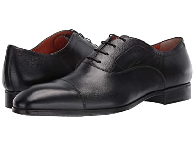 Santoni Ethan Simon Lace-Up (Black) Men