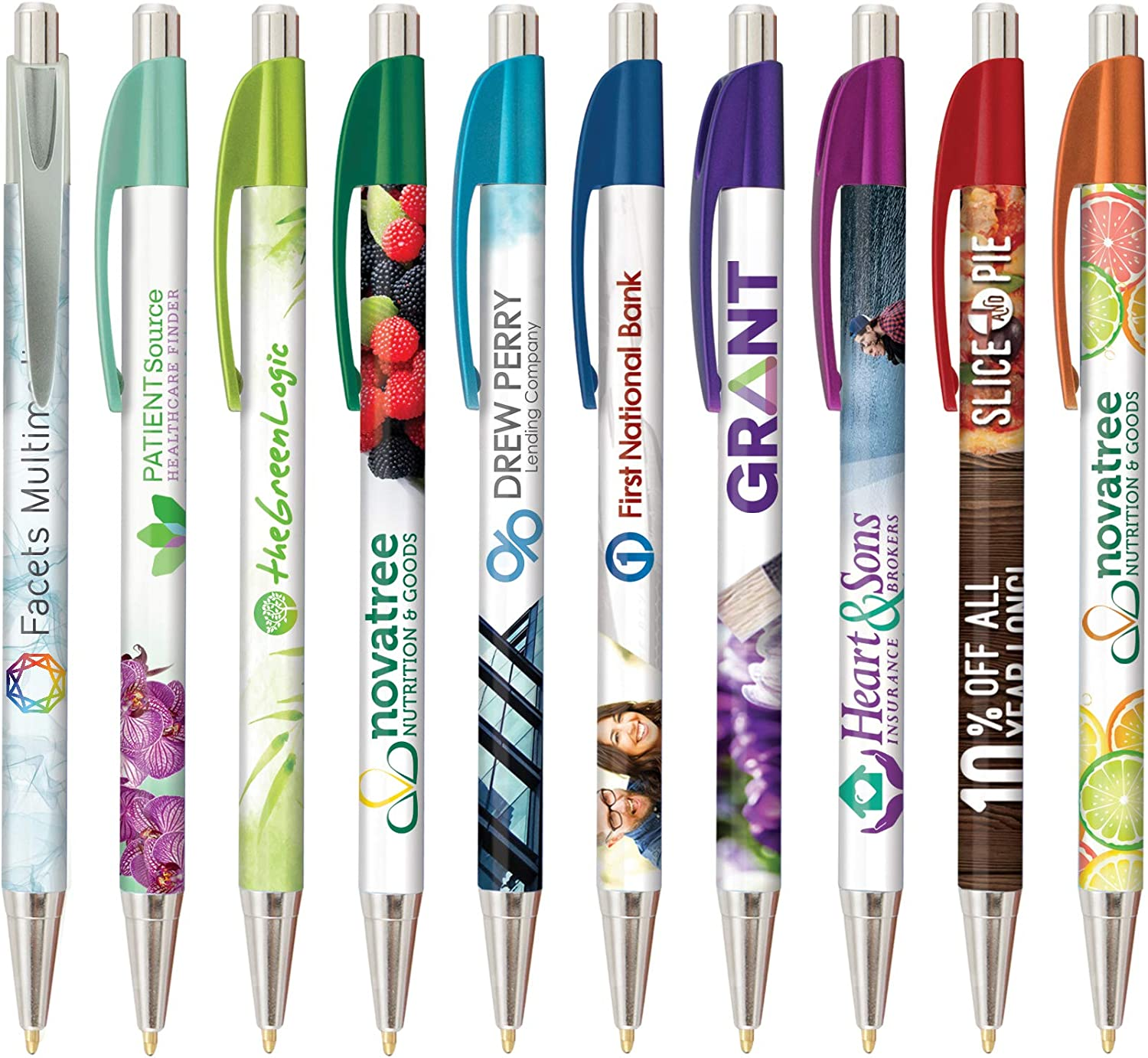 Personalized Elite Slim Metallic Max 79% OFF Click Your Al sold out. Log Pen with Printed