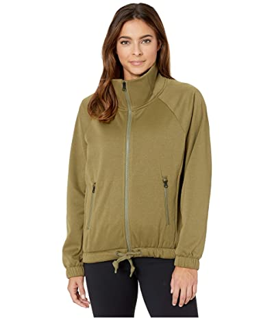 The North Face Jazzer Full Zip (Burnt Olive Green) Women
