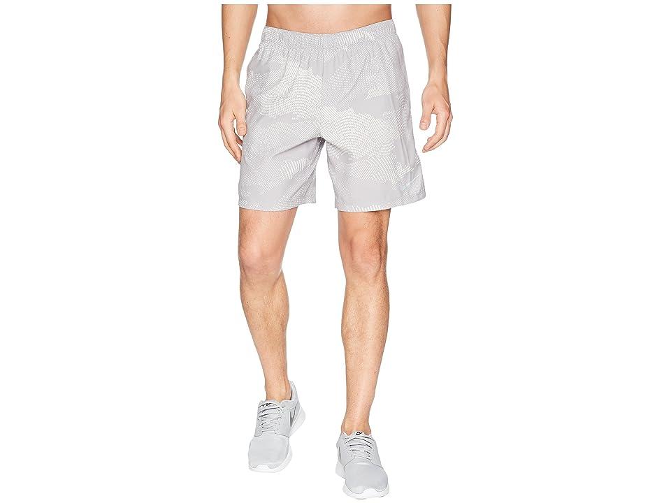Nike Dry Challenger Shorts 7 Print (Atmosphere Grey/Atmosphere Grey) Men