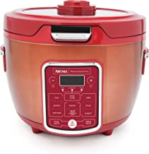 Aroma Professional ARC-1230R RICE COOKER/MULTICOOKER, 20 Cup Cooked, Red