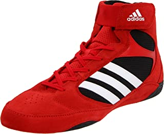 Adidas Pretereo 2 Wrestling Shoes - Red/White/Black - 11