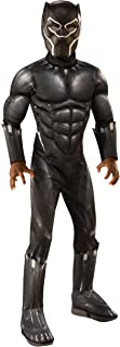 Deluxe Black Panther Costume for Children X-Large