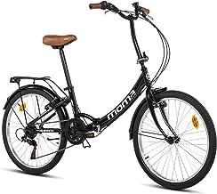 Moma Bikes Top Class 24 - Bicicleta Plegable Urbana, Cambio