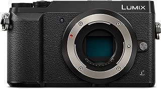 PANASONIC LUMIX GX85 Body 4K Mirrorless Camera, 16 Megapixles, 3 Inch Tilting Touch LCD, DMC-GX85KBODY (USA BLACK)