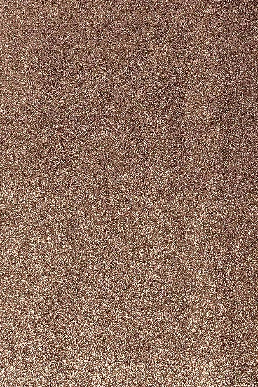 Allgala 12 Pack Glitter EVA Foam Paper 8 x 12inch Sheets-Coffee-CF85011
