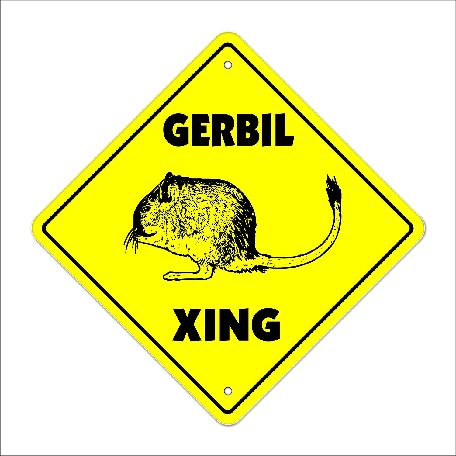 Gerbil Crossing Sign Zone Xing Plast Outdoor Cheap bargain Indoor Tall Ranking TOP2 20