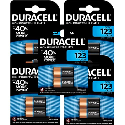 Lithium 123 Batteries Amazoncouk