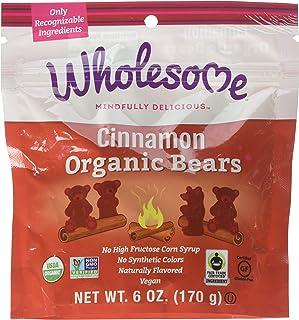 Wholesome! Organic Cinnamon Bears Gluten Free Vegan Candy