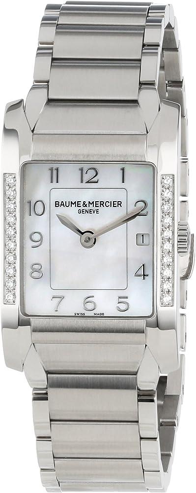 Baume & mercier orologio da donna con quadrante in madreperla MOA10051